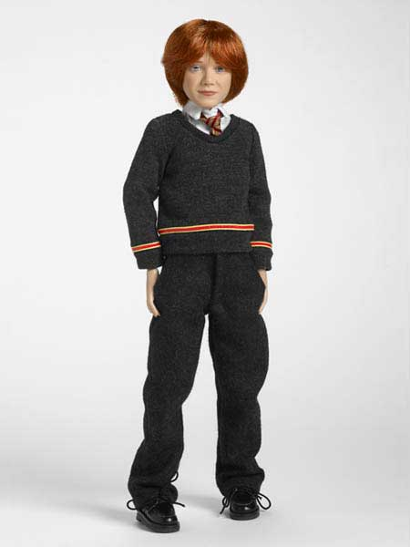 Small Scale Ron Weasley Tonner Doll