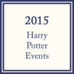 2015 Harry Potter Events