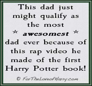 Epic Rap of the First Harry Potter Book