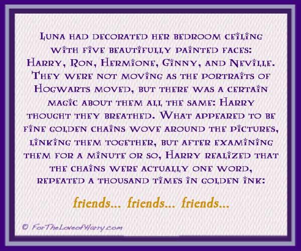 Friends Friends Friends by Luna Lovegood
