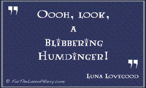 Luna Lovegood Quote