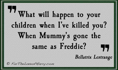 Bellatrix Quote