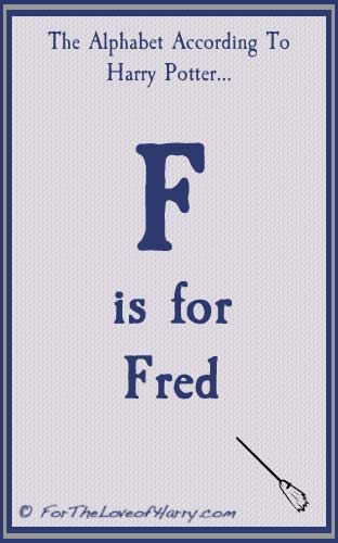 F is for Fred