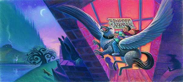 Harry Potter and the Prisoner of Azkaban Cover Art
