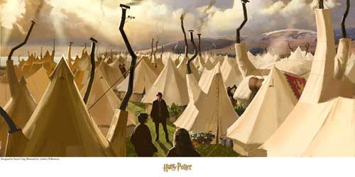 Quidditch World Cup Tents