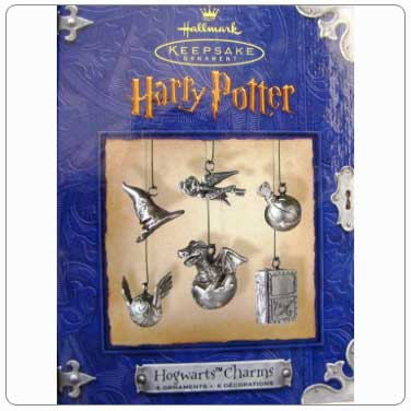 2000 Hogwarts Charms Ornaments