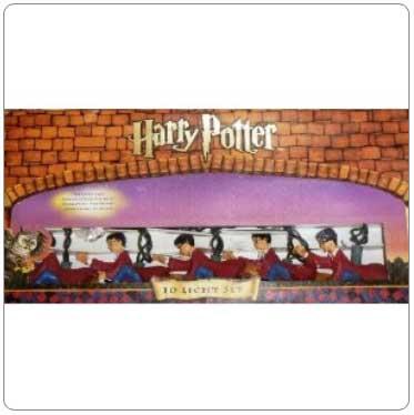 Kurt Adler Harry Potter Flying as a Quidditch Seeker String Lights