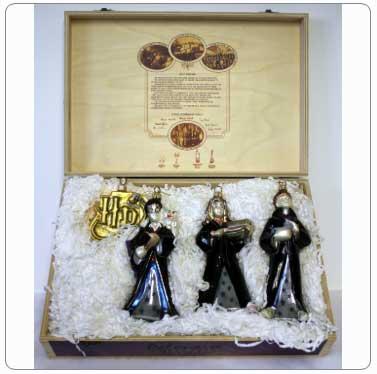 Kurt Adler Harry Potter Polonaise Glass Boxed Set of Ornaments
