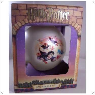 Kurt Adler Harry Potter and the Flying Keys Ball Ornament