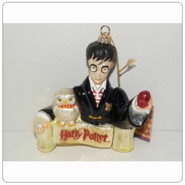 Kurt Adler Polonaise Glass Harry Potter Sorcerer's Stone Ornament
