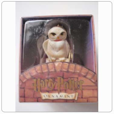 Kurt Adler Resin Hedwig Ornament