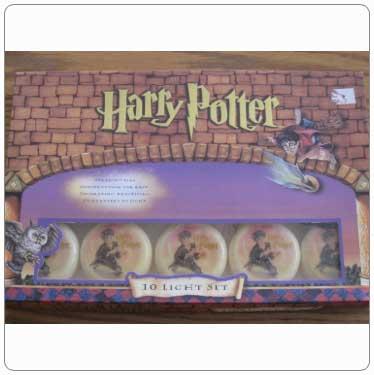 Kurt Adler Round Harry Potter String Lights