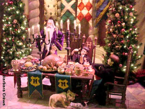 Marshall Field's Harry Potter Display 11 - Christmas in the Great Hall