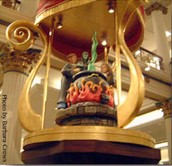 Marshall Field's Harry Potter Display 16 - Bubbling Cauldron