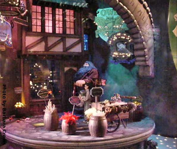 Marshall Field's Harry Potter Display 3 - Diagon Alley With Hagrid