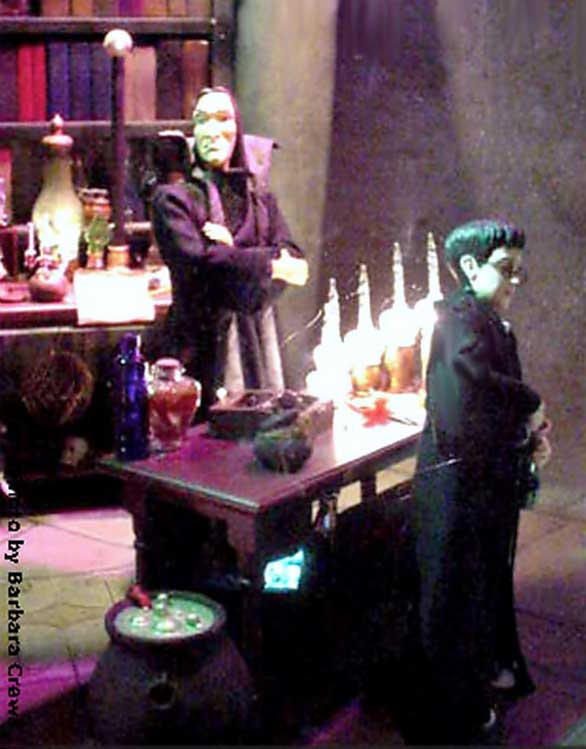 Marshall Field's Harry Potter Display 7 - The Potions Master