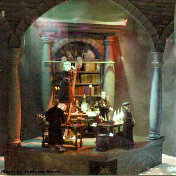 Marshall Field's Harry Potter Display 8 - The Potions Master