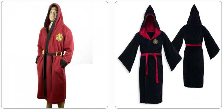 harry potter dressing gown adults