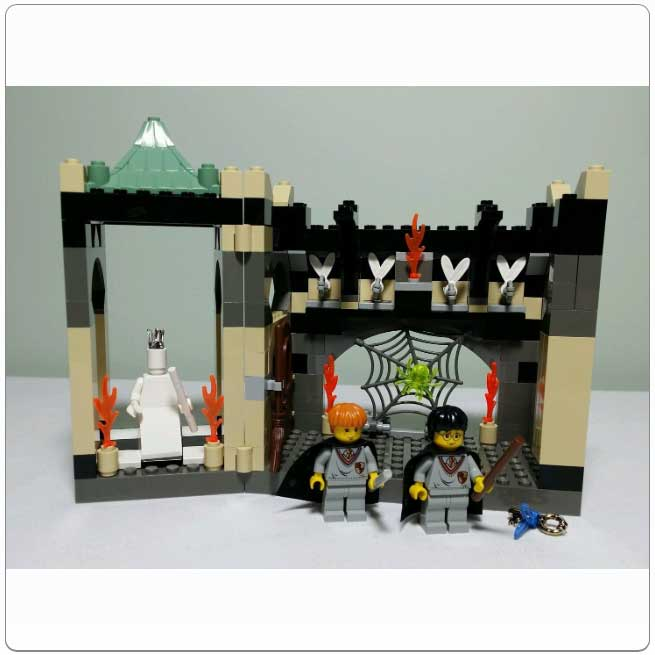 Lego Set 4704 - The Chamber of the Winged Keys
