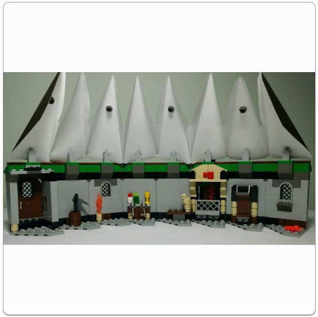Lego Set 4707 - Hagrid's Hut