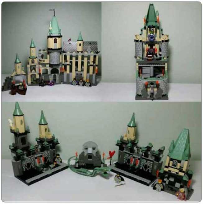 LEGO® Set K4729 - Deluxe Hogwarts Kit