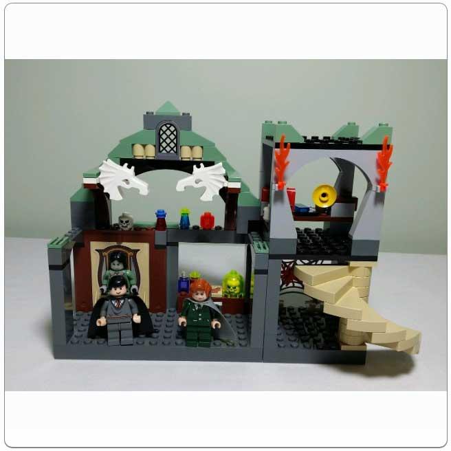 LEGO® Set 4752 - Professor Lupin's Classroom