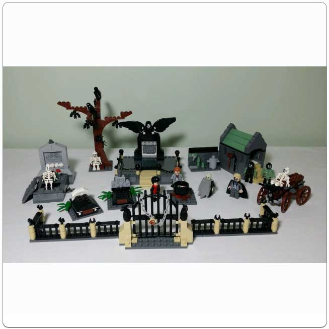 2005 Lego Set 4766 Graveyard Duel For The Love Of Harry