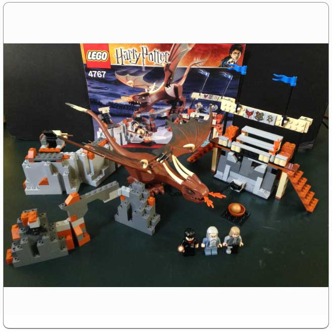 LEGO® Set 4767 – Harry and the Hungarian Horntail