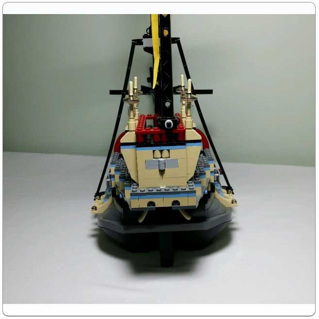 Lego Set 4768 The Durmstrang Ship Lego | 4768 | installation guide | lego 4768 the durmstrang ship guide d'installation. lego set 4768 the durmstrang ship