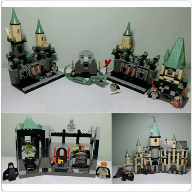 LEGO® Set K4701 - Chamber of Secrets Kit