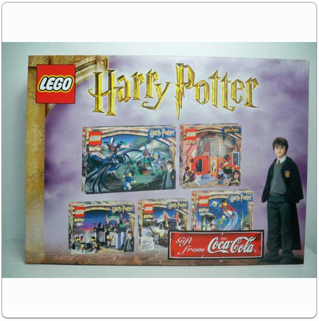 Set KCCHP - Coca Cola Harry Potter Gift Set