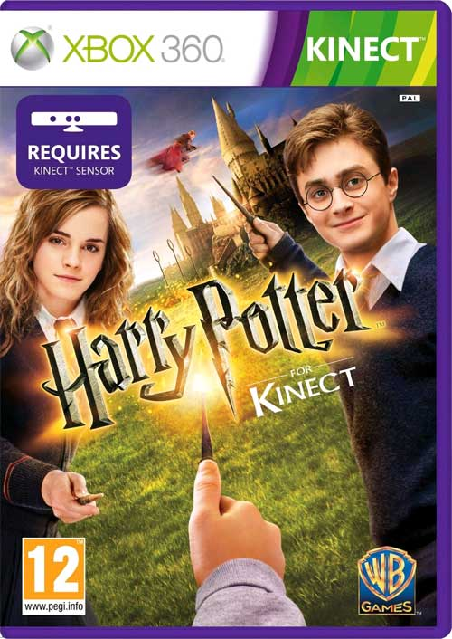 Harry Potter For Kinect WB Games