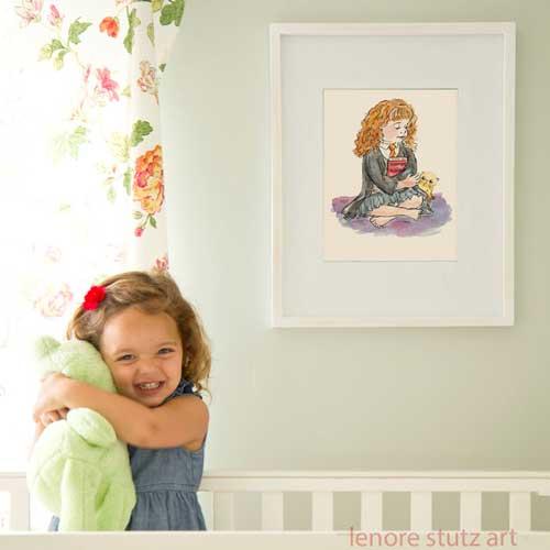 Hermione Granger in a Nursery