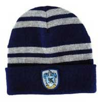 Replica of the beanie worn by Ravenclaw students in the Harry Potter movies.