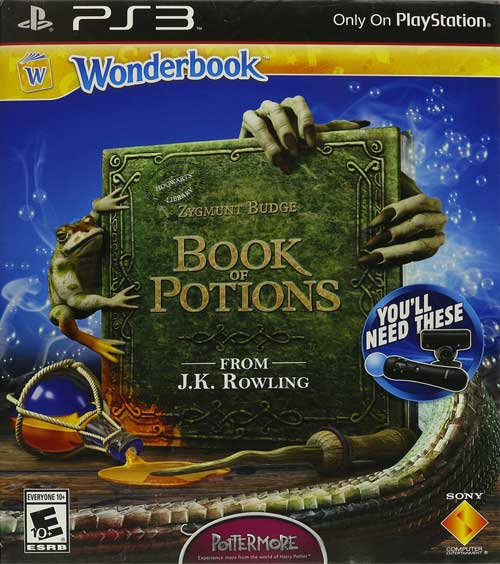 Wonderbook Book of Potions