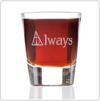 Always Harry Potter Shot Glass