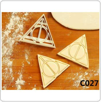 Deathly Hallows Harry Potter Cookie Cutter