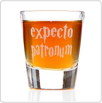 Expecto Patronum Harry Potter Shot Glass