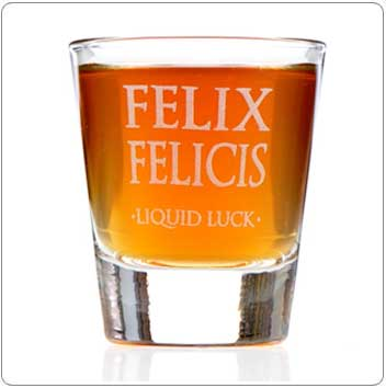 Felix Felicis Harry Potter Shot Glass