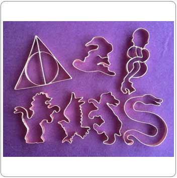 Miscs. Harry Potter Cookie Cutters