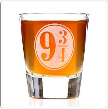 Platform 9-3/4 Harry Potter Shot Glass