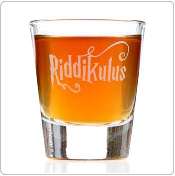 Riddikulus Harry Potter Shot Glass