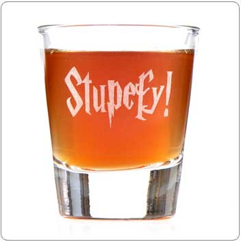 Stupefy Harry Potter Shot Glass