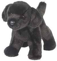 Sirius Black as a plush dog