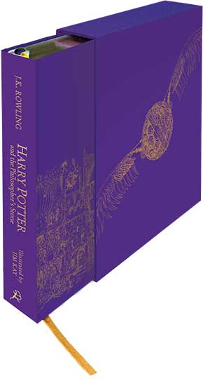 'Harry Potter and the Philosopher's Stone' Deluxe Illustrated Slipcase Edition (UK)