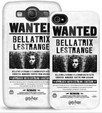Bellatrix Lestrange Wanted Cell Phone Case for iPhone and Galaxy