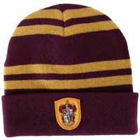 Slouch beanie to go with a Gryffindor costume.