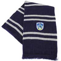 Replica of the scarf worn by Ravenclaw students in the Harry Potter movies.