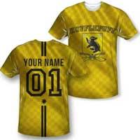 Hufflepuff Quidditch Jersey Shirt