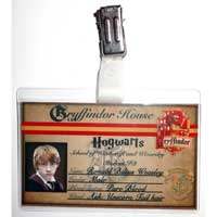 Ron Weasley Student ID Badge